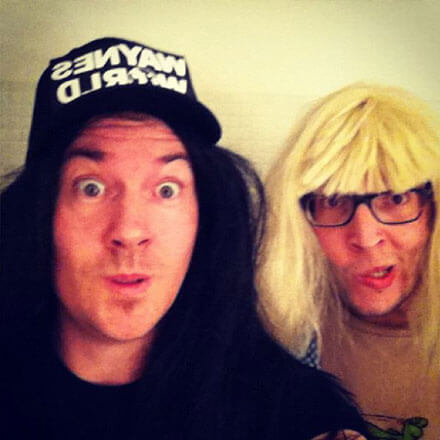 Wayne's World Wayne's World party time excellent